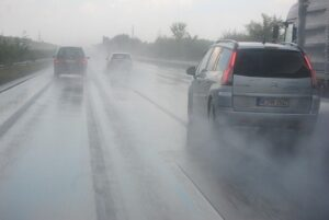 When Driving in The Rain, Fog or Smoke in The Daytime